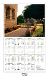 Baha'i Wall Calendar (174 BE)