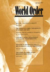 World Order: Spring 1997, Vol. 28 No. 3