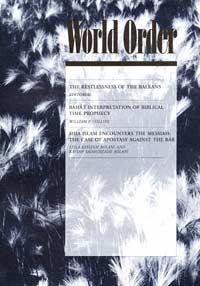 World Order: Winter 1998-1999, Vol. 30 No. 2