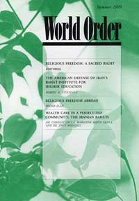 World Order: Summer 1999, Vol. 30 No. 4
