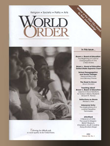 World Order: Vol 36 No 1