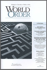 World Order: Vol 37 No 3