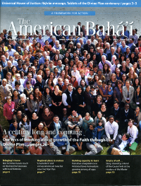 American Baha'i, The volume 47 Issue 3