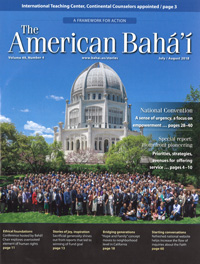 American Baha'i, Volume 49 Issue 4