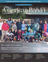 American Baha'i, Volume 50 Issue 1