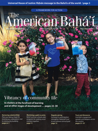 American Baha'i, The Volume 50 Issue 3