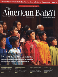 American Baha'i, Volume 51 Issue 1
