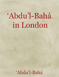 Abdu'l-Baha in London (Free Mobi)