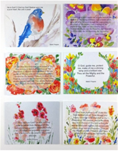 Set Parent and Child Prayer Cards