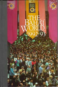 Baha'i World, The 1992-1993