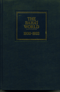 BAHA'I WORLD 1930-1932: VOL. IV HC