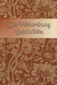 Die Weltordnung Baha'u'llahs (German, Free ePub) / The World Order of Baha'u'llah