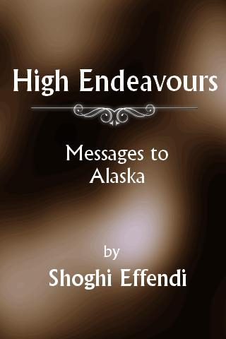High Endeavours (Free ePub)