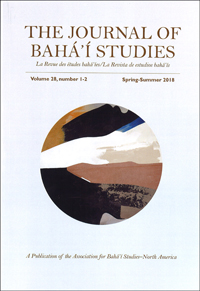 The Journal of Baha'i Studies Vol. 28, 1-2
