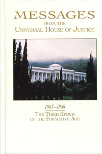 Messages from the Universal House of Justice 1963-1986