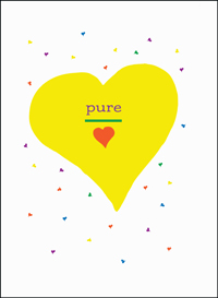 Pure Heart Birthday Card