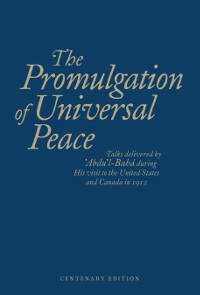Promulgation of Universal Peace (Originally $25)