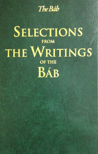 Institute material arabic selections from the writings of the bab fandeluxe Image collections