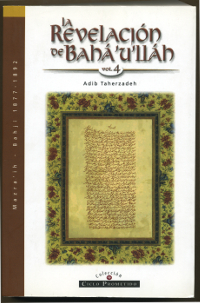 Revelacion de Baha'u'llah Vol. 4 (Spanish) (originally $35.99)