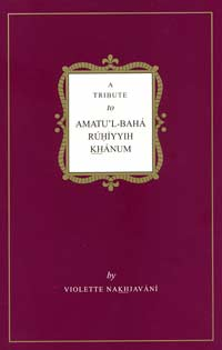 A Tribute to Amatu'l-Baha (Free Mobi)