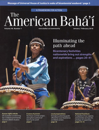 American Baha'i, Volume 49 Issue 1