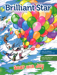Brilliant Star: Soar with Joy