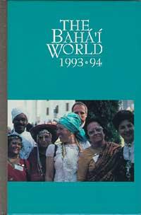 Baha'i World, The 1993-1994