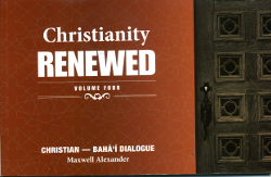 Christianity Renewed Vol 4