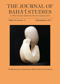 Journal of Baha'i Studies V27.1-2