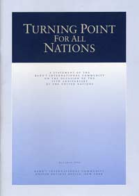 Turning Point for All Nations