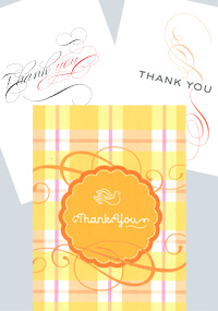 Thank You Cards (pack of 6)